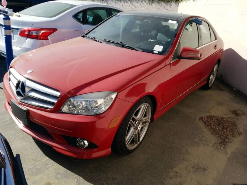 2010 Mercedes-Benz C-Class for sale at MCHENRY AUTO SALES in Modesto CA