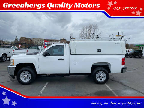 2013 Chevrolet Silverado 2500HD for sale at Greenbergs Quality Motors in Napa CA