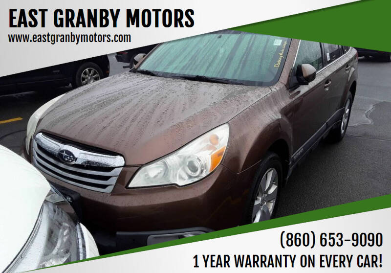 2011 Subaru Outback for sale at EAST GRANBY MOTORS in East Granby CT