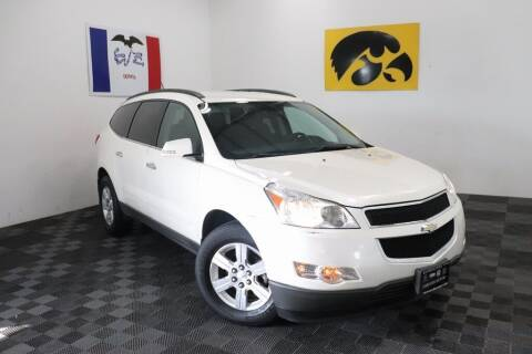 2012 Chevrolet Traverse for sale at Carousel Auto Group in Iowa City IA
