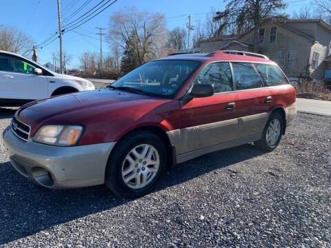 2002 Subaru Outback for sale at Old Trail Auto Sales in Etters PA