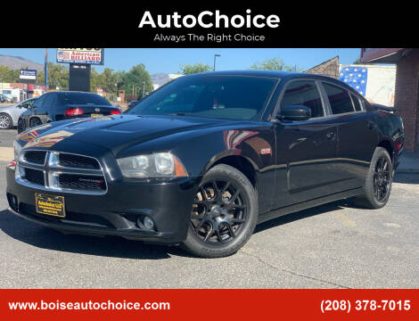 2013 Dodge Charger for sale at AutoChoice in Boise ID