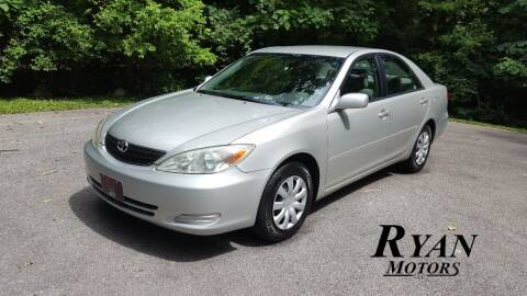 2003 Toyota Camry for sale at Ryan Motors LLC in Warsaw IN