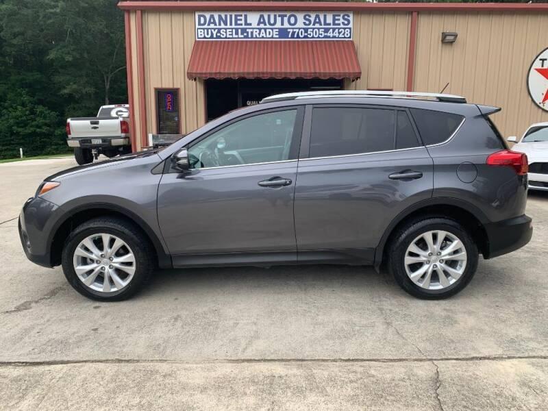 2015 Toyota RAV4 for sale at Daniel Used Auto Sales in Dallas GA