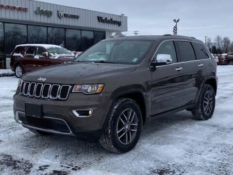 2017 Jeep Grand Cherokee for sale at Vicksburg Chrysler Dodge Jeep Ram in Vicksburg MI