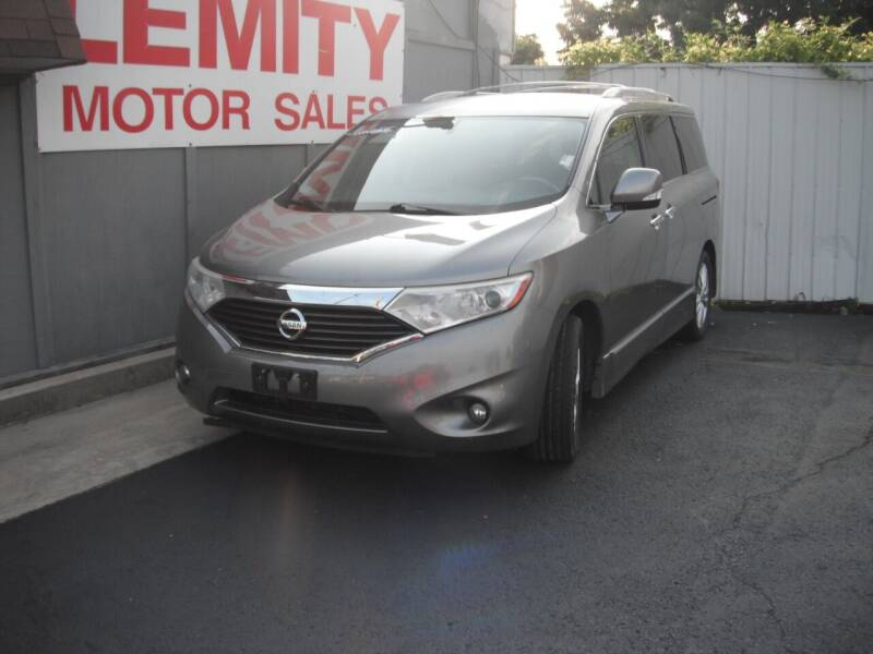 2012 Nissan Quest for sale at Collector Car Co in Zanesville OH