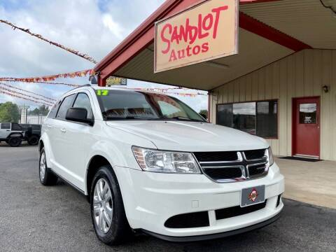 2017 Dodge Journey for sale at Sandlot Autos in Tyler TX