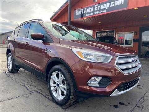 2018 Ford Escape for sale at HUFF AUTO GROUP in Jackson MI
