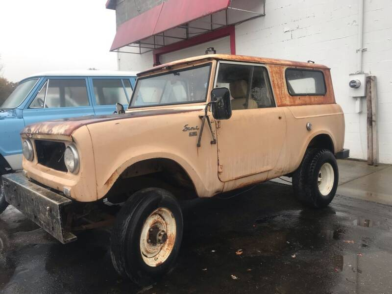 1962 International Scout for sale at FIREBALL MOTORS LLC in Lowellville OH