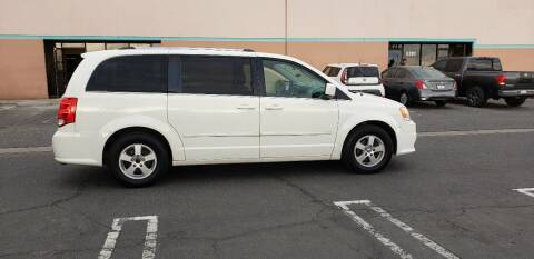 2011 Dodge Grand Caravan for sale at E and M Auto Sales in Bloomington CA