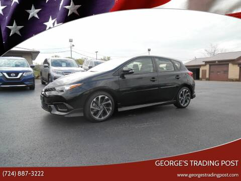 2017 Toyota Corolla iM for sale at GEORGE'S TRADING POST in Scottdale PA