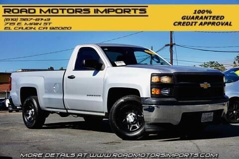 2014 Chevrolet Silverado 1500 for sale at Road Motors Imports in El Cajon CA