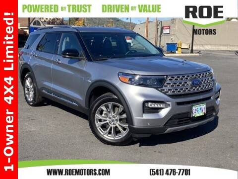 2021 Ford Explorer for sale at Roe Motors in Grants Pass OR