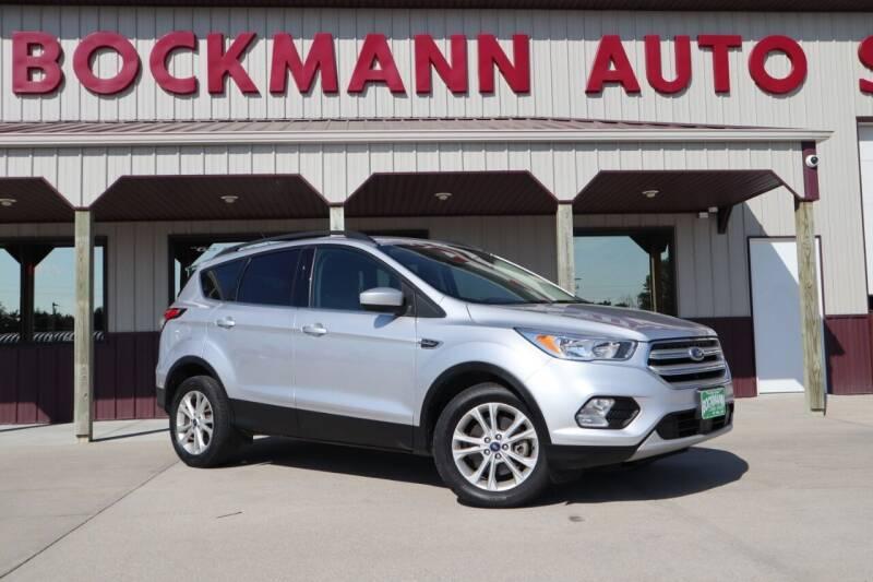 2018 Ford Escape for sale at Bockmann Auto Sales in Saint Paul NE