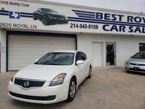 2007 Nissan Altima for sale at Best Royal Car Sales in Dallas TX