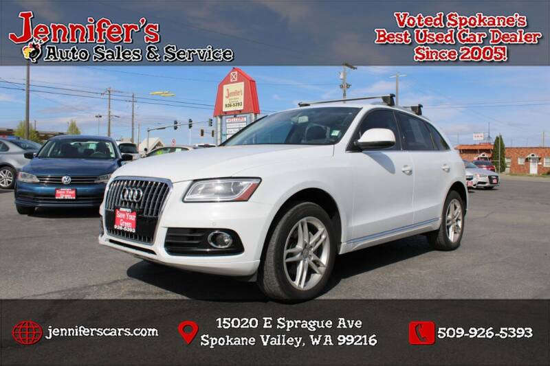 2014 Audi Q5 for sale at Jennifer's Auto Sales in Spokane Valley WA