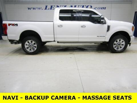 2019 Ford F-350 Super Duty for sale at LENZ TRUCK CENTER in Fond Du Lac WI