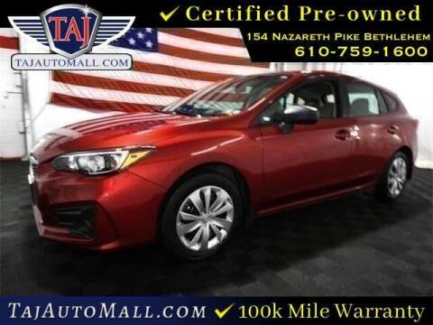 2018 Subaru Impreza for sale at Taj Auto Mall in Bethlehem PA