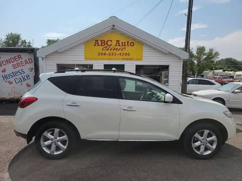 2010 Nissan Murano for sale at ABC AUTO CLINIC CHUBBUCK in Chubbuck ID