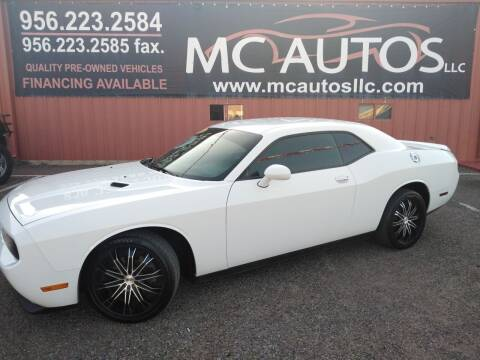 2014 Dodge Challenger for sale at MC Autos LLC in Pharr TX