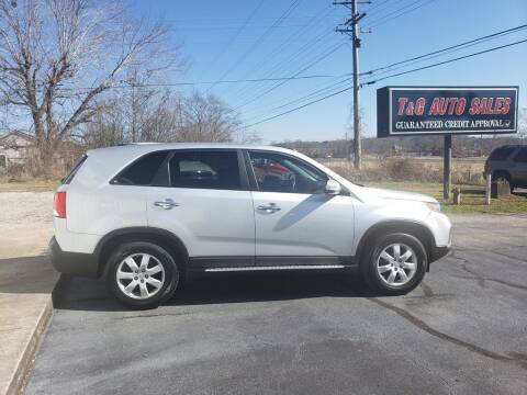 2011 Kia Sorento for sale at T & G Auto Sales in Florence AL