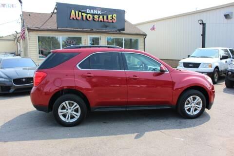 2014 Chevrolet Equinox for sale at BANK AUTO SALES in Wayne MI
