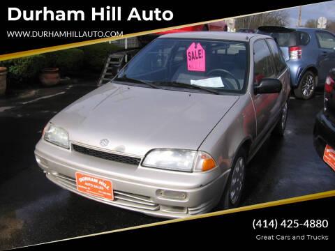 1992 Suzuki Swift for sale at Durham Hill Auto in Muskego WI