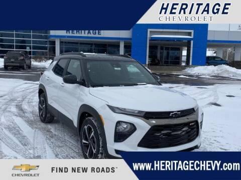 2021 Chevrolet TrailBlazer for sale at HERITAGE CHEVROLET INC in Creek MI