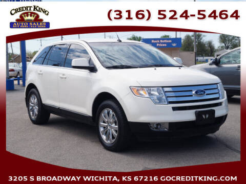 2008 Ford Edge for sale at Credit King Auto Sales in Wichita KS