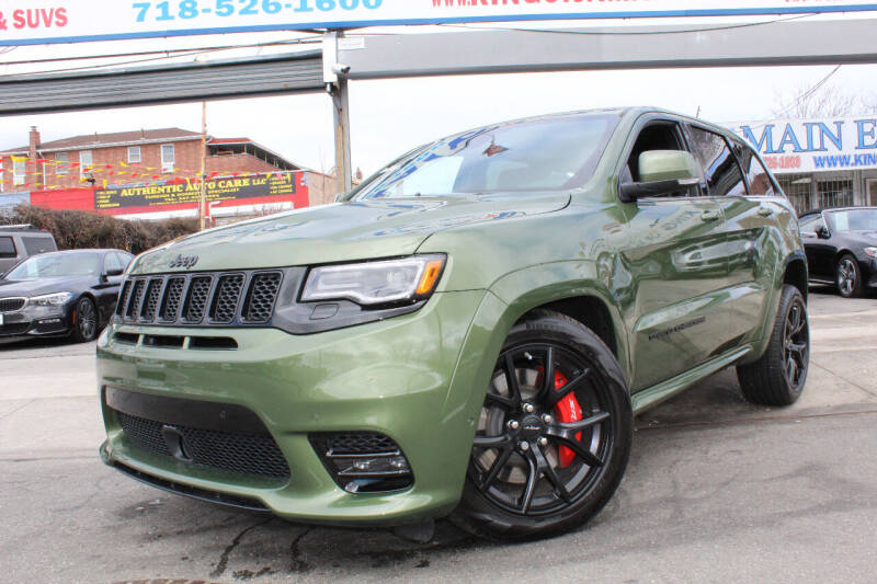 2021 Jeep Grand Cherokee for sale at MIKEY AUTO INC in Hollis NY