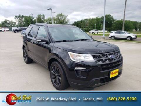 2018 Ford Explorer for sale at RICK BALL FORD in Sedalia MO