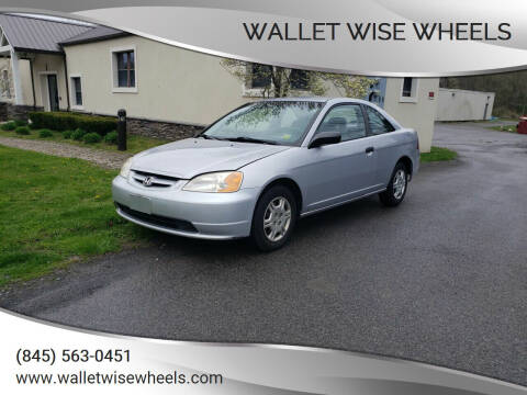 2001 Honda Civic for sale at Wallet Wise Wheels in Montgomery NY