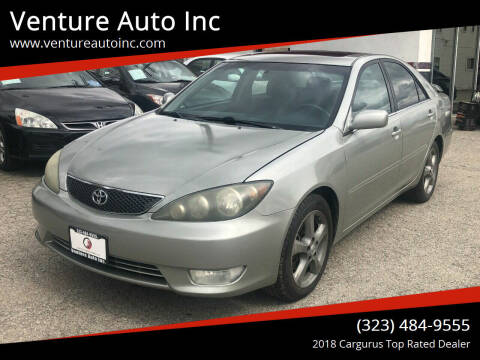 2006 Toyota Camry for sale at Venture Auto Inc in South Gate CA
