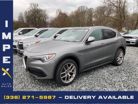 2018 Alfa Romeo Stelvio for sale at Impex Auto Sales in Greensboro NC