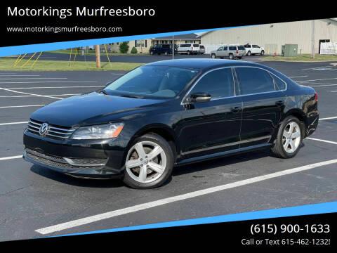 2014 Volkswagen Passat for sale at Motorkings Murfreesboro in Murfreesboro TN