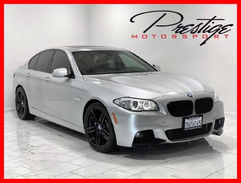 2013 BMW 5 Series for sale at Prestige Motorsport in Rancho Cordova CA