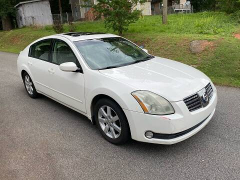 2004 Nissan Maxima for sale at ATLANTA AUTO WAY in Duluth GA