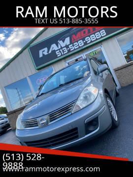 2008 Nissan Versa for sale at RAM MOTORS in Cincinnati OH