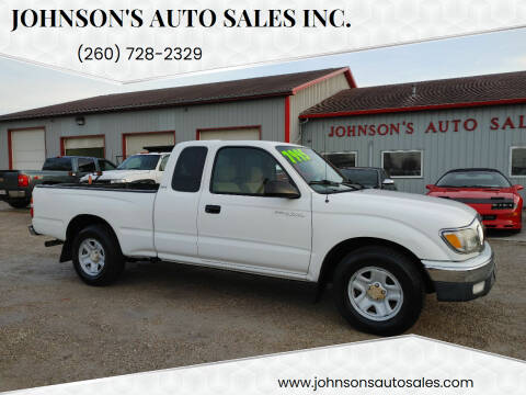 2004 Toyota Tacoma for sale at Johnson's Auto Sales Inc. in Decatur IN