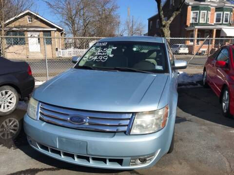 2008 Ford Taurus for sale at Chambers Auto Sales LLC in Trenton NJ