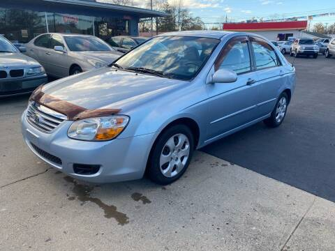 2007 Kia Spectra for sale at Wise Investments Auto Sales in Sellersburg IN