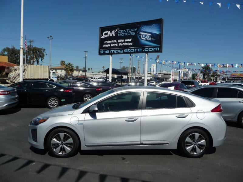 2018 Hyundai Ioniq Plug-in Hybrid for sale at CENTURY MOTORS in Fresno CA