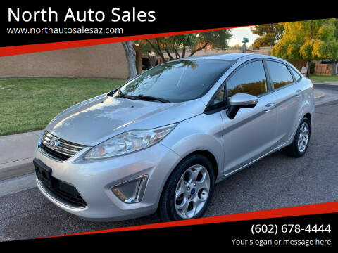 2012 Ford Fiesta for sale at North Auto Sales in Phoenix AZ
