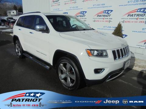 2015 Jeep Grand Cherokee for sale at PATRIOT CHRYSLER DODGE JEEP RAM in Oakland MD
