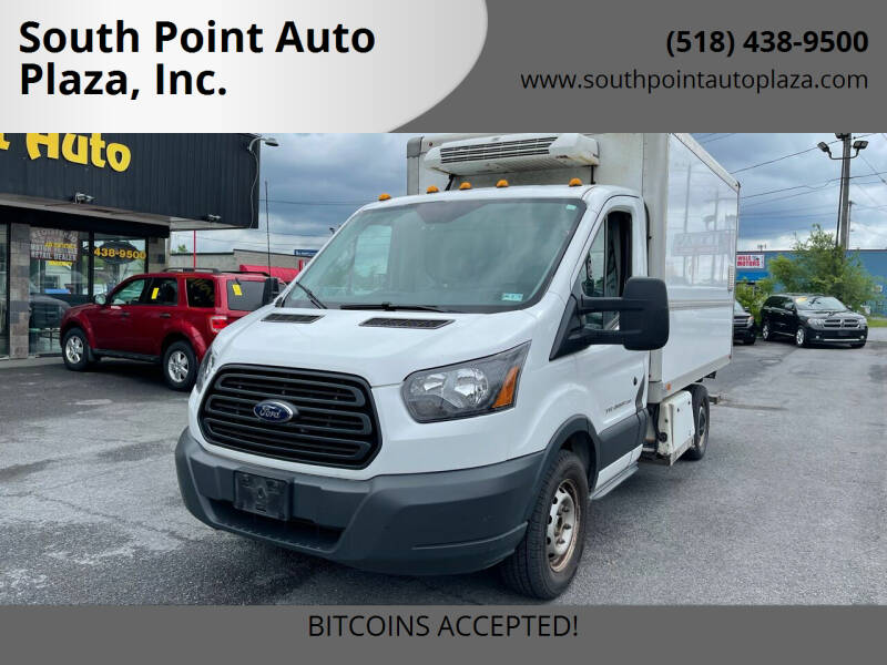 2015 Ford Transit Chassis Cab for sale at South Point Auto Plaza, Inc. in Albany NY