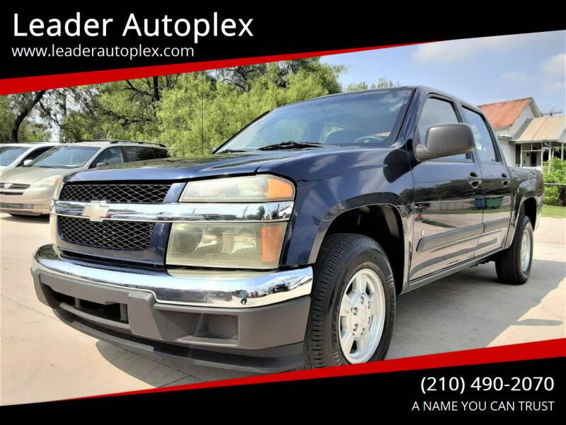2007 Chevrolet Colorado for sale at Leader Autoplex in San Antonio TX