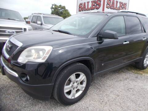 2009 GMC Acadia for sale at OTTO'S AUTO SALES in Gainesville TX