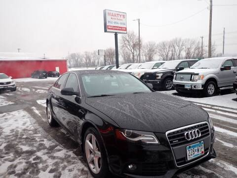2010 Audi A4 for sale at Marty's Auto Sales in Savage MN