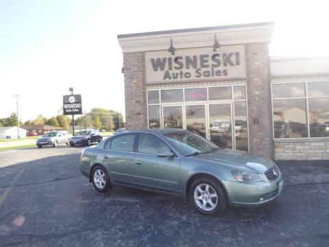 2005 Nissan Altima for sale at Wisneski Auto Sales, Inc. in Green Bay WI