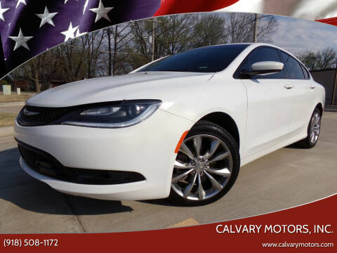 2016 Chrysler 200 for sale at Calvary Motors, Inc. in Bixby OK